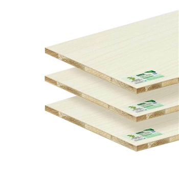 Warm white Deep Relievo TUBAO Chinese fir core ecological board 2440*1220*18